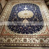 handmade silk carpet kashmir silk carpet iranian hand knotted silk carpet plain silk carpets