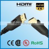 rohs hdmi cable high speed awm 20276 hdmi cable 1.4 with ethernet support 1080p, 3D for ps2.ps3,HDTV
