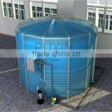 New15m3 Portable Assembly Biogas Digester Food Waste Treatment Plant