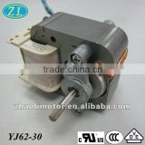 220V fan motor Shaded Pole Motor YJ62-30: medical nebulizer motor, vacuum pump, ventilator electric fan