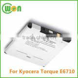 3.7V 2050mAh Lithium ion battery for Kyocera TORQUE, E6710, SCP-51LBPS