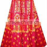 Wholesale lot skirts Gypsy ethnic tribal wrap on long Colorful Skirt