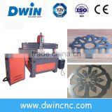 hot sale cheap cnc plasma laser tube table cutting machine with DW1500*3000mm working area