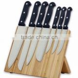 Ultrathin shape bamboo magnetic knife holder