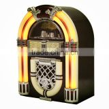 Retro wooden bluetooth Jukebox - usb media player for christmas gifts 2016
