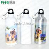 Wholesale sublimation 500ml blank sport aluminum personalised sports drink bottles