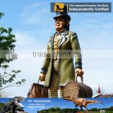MY Dino-C091 Realistic resin cartoon character sculpture