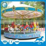 Hot sale shopping mall play games! China supplier 16 seats amusement park fairground carousel horse rides for sale