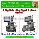 Special Offer WDS-600 bga laptop repair machine infrared smd rework station for motherboard rework
