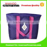 Promotional Purple Cooler Bag Lunch Bag Ice Bag Neoprene Material For Shop