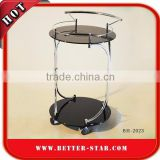 Round Wine Trolley, Round Bar Trolley, Round Tea Trolley