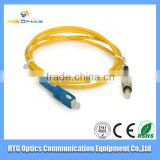 1m,3m,5m,SC/PC-LC/APC 0.9mm SX SM indoor/outdoor PVC&LSZH fiber optical patch cord (jumpers)for communication network equipement