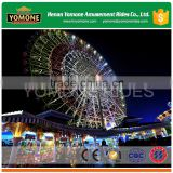 Amusement park ride large ferris wheel China manufacturer 25m/30m/42m/56m giant ferris wheel for sale