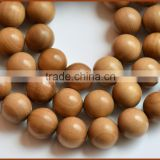 spiritual original sandalwood necklace/aromatic japa beads/genuine chinese beads