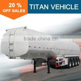 3 axle 48000 liter fuel tanker trailer for sale , 33000 liters fuel tanker trailer , 45000 liters fuel tanker trailer