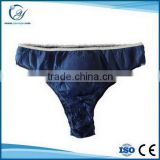 disposable custom blue funny boxer shorts for men
