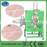 Fully automatic high efficiency clothes hanger making machine with easy molding and CE certificate