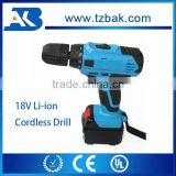 Hot Sale Power tools 18V Cordless Electric Drill Li-ion Battery Hand Cordless Drill