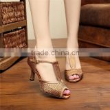 professional dance shoes women diamond ballroom dance shoes plus size dance shoes