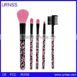 New Synthetic Kabuki Kit 5 pcs Makeup Brushes High quality Professional makeup Brush Set