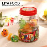 Large plastic candy bottle packed Nata De Coco jam coconut sugar candy