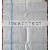Pure raw material PP woven sand bag, plastic packing pp woven sack/sandbag with competitive price