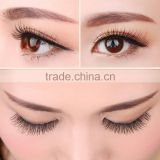 2016 fashion realistic eye hair beautiful private label three dimensional false eyelashes