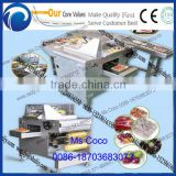 tray case packing solution&Wrap Around Case Packer/Sleeve Wrap Shrink Wrapping Machine&PE film shrinking solution