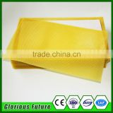 CHINESE CHEAP PRICE beeswax foundation for honey bee/bulk organic beeswax comb foundation sheet