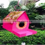 Bird House With Feeder