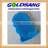 High quality silicone bath gloves cleaning tools of body