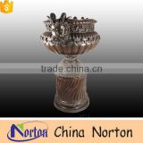 garden human face large metal bronze flower pot NTBF-FL130S