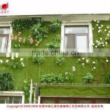 Outdoor creative artificial living moss flower plants wall