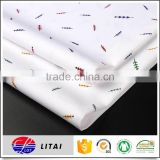 new design bamboo printing fabric for men and women shirt