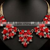 fancy design US latest women acrylic crystal necklace