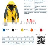 Hot sales New Custom Sporty Hiking Technical Jacket with different color style 2