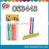 Promotional musical instruments little colorful recorder