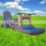 big inflatable jungle slide for sale,giant forest inflatable water slide