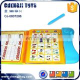 Plastic learning toy english talking pen book