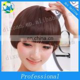 The girl inclined bang wig wholesale Korea fashion hair inclined bang head wig
