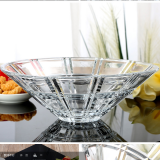 china crystal fruit bowl glassware for sale