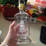 2018 drift bottle for Christmas ,High Quality Glass drift bottle ,Hot Sale drift bottle with sailing boat