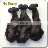 Popular Hairstyle Magical Curl Funimi Aunty Wave Brazilian Hair 8 Inch Hair Weaving Remy Extension