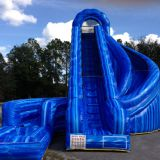 Inflatable slip and slide inflatable water slide axs-07