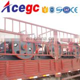 Rock mine soulutions stone crushing and separating machine jaw crusher