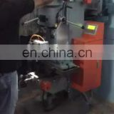 Double function joint internal thread copper plumbing fittings bench drilling and tapping machine