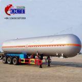 3 axles pressure vessel 30cbm -69cbm Propane gas transporting LPG tanker trailer for sale
