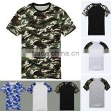 Man Casual Camouflage T-shirt Men Cotton Army Tactical Combat T Shirt Military Sport Camo T-Shirts Fashion Standard Sports