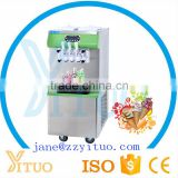 Commercial Fruit Ice Cream Maker Soft Serve Ice Cream Machine For Sale