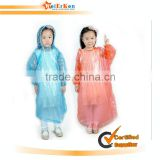 Plastic PVC kids raincoat